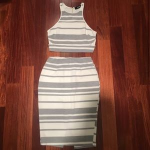 Lulus crop top and skirt set!! 💞💞